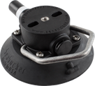114mm SeaSucker Black Vacuum Mount with Aluminium Handle
