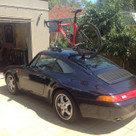 SeaSucker Talon fitted to Porsche Carrera