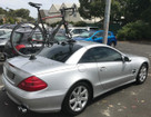 Mercedes SL500 with SeaSucker Talon
