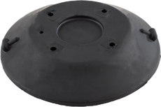 152 mm Black SeaSucker Replacement Vacuum Pad