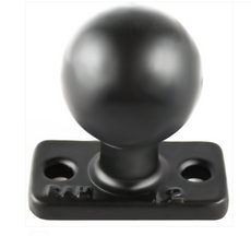 "RAM 1"" x 2"" Rectangle Base with 1.5"" Ball (RAM-202U-12)"