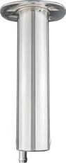 Lee's Heavy Duty 0 DEG Flush Mount Rod Holder for 36kg (80lb) fishing rods(RH5327V) - Closed End