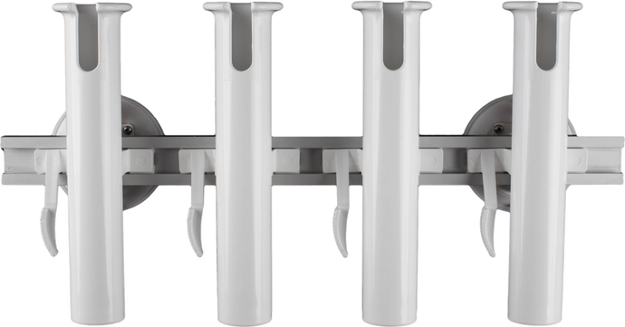 4-Rod Holder with two 152 mm SeaSucker Vacuum Mounts. The removable boat rod holder solution capable of transporting 3 fishing rods and can also be used for light trolling.