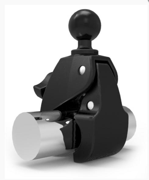 "RAM Large Tough-Claw™ with 1.5"" Diameter Rubber Ball (RAP-401U)"