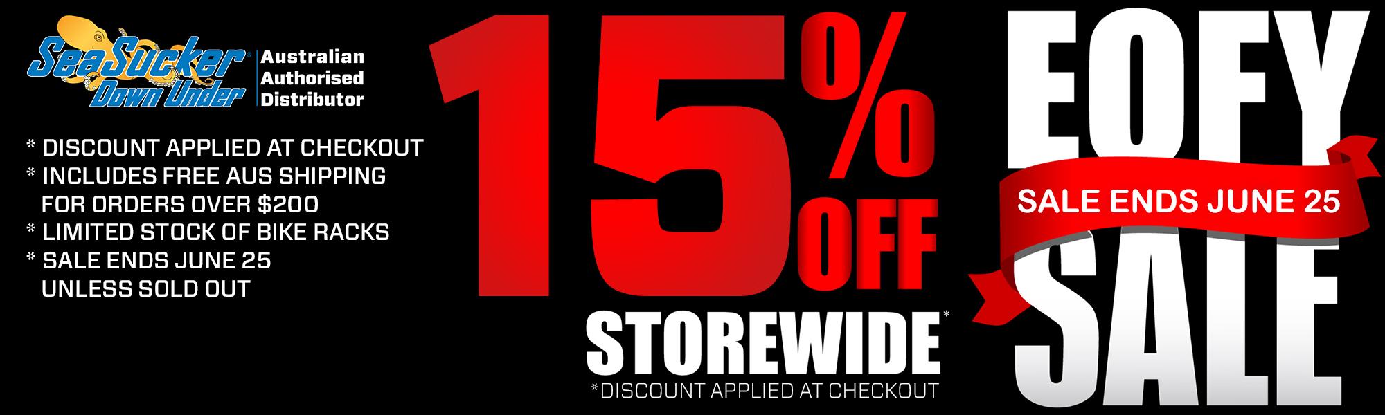 SeaSucker Down Under EOFY Sale 15% off