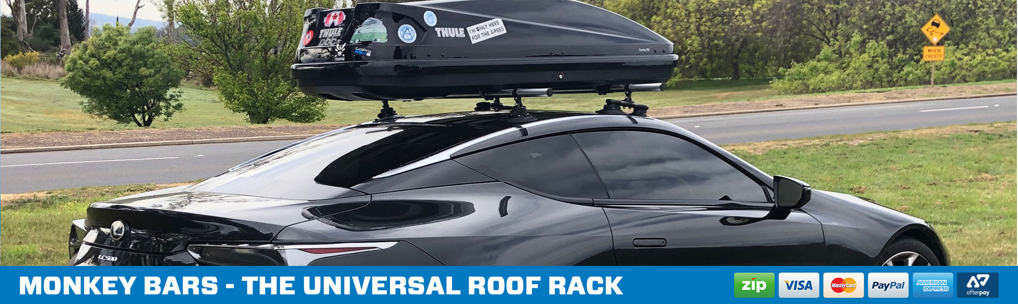 SeaSucker Monkey Bars - The Modular Roof Rack System