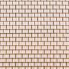 "24"" x 100' Brite Bronze / Copper Insect Screen"