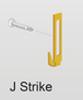 Latch Strike For 600 Series Door - Part # 20.7000.1572