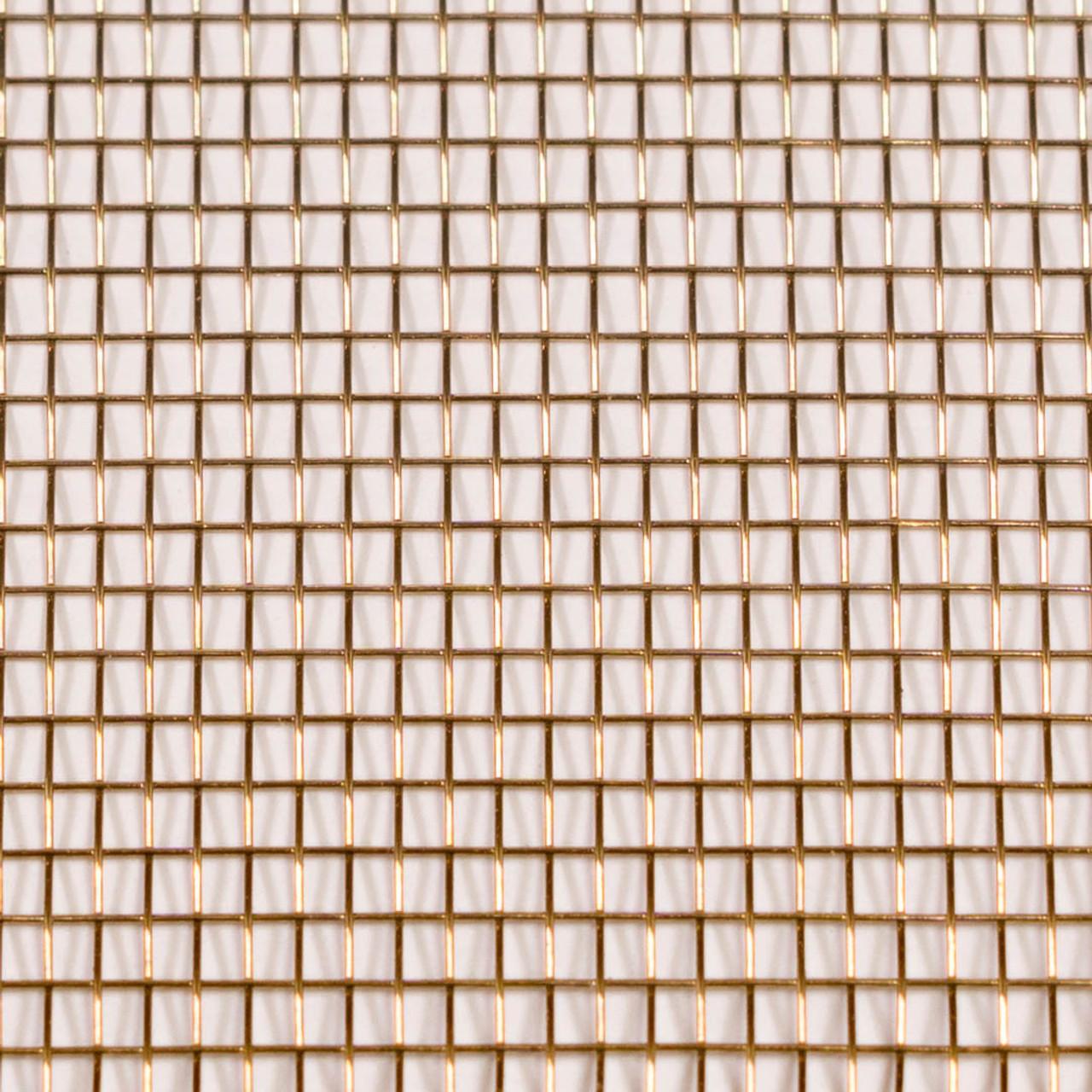"30"" x 100' Brite Bronze / Copper Insect Screen"