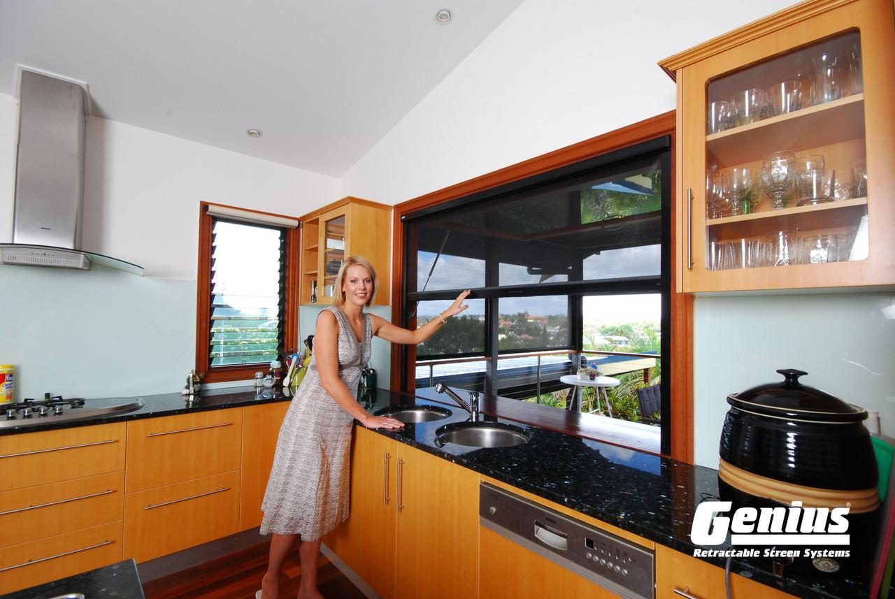Genius® Retractable Window Screens