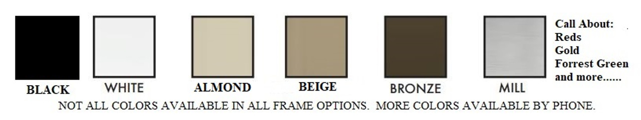 BULK ORDER Window Screens - 12 Screen Minimum Order