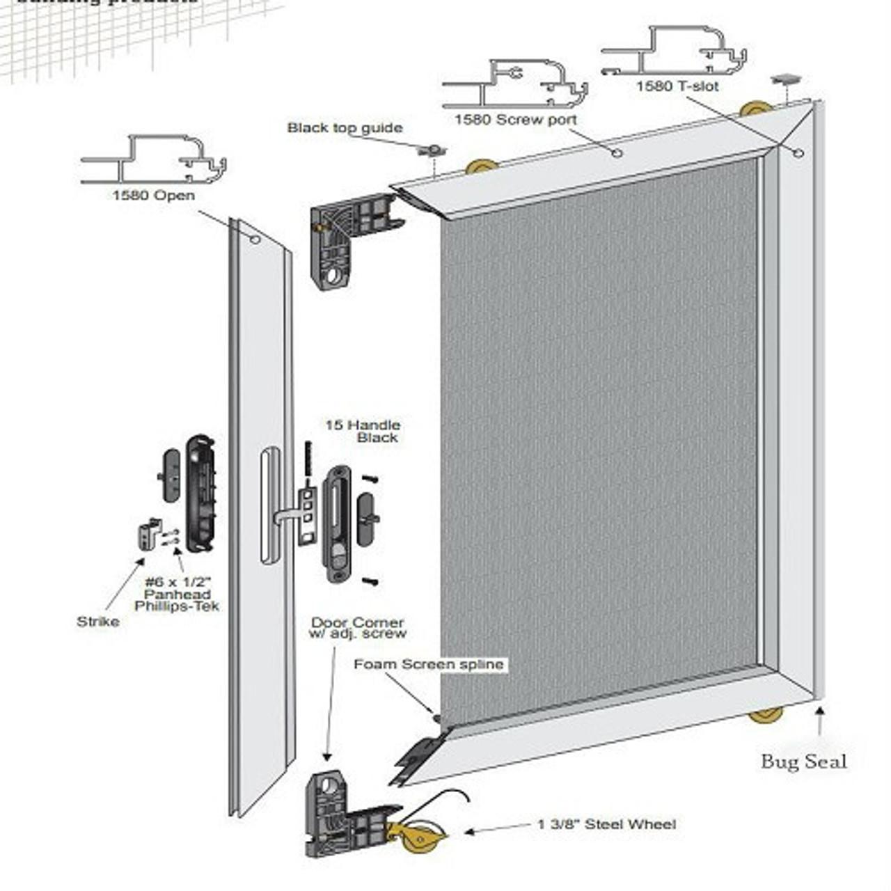 Sliding Screen Door Replacement Parts Replacement Sliding Screen Doors Sliding Screen Door Replacement Metro Screenworks