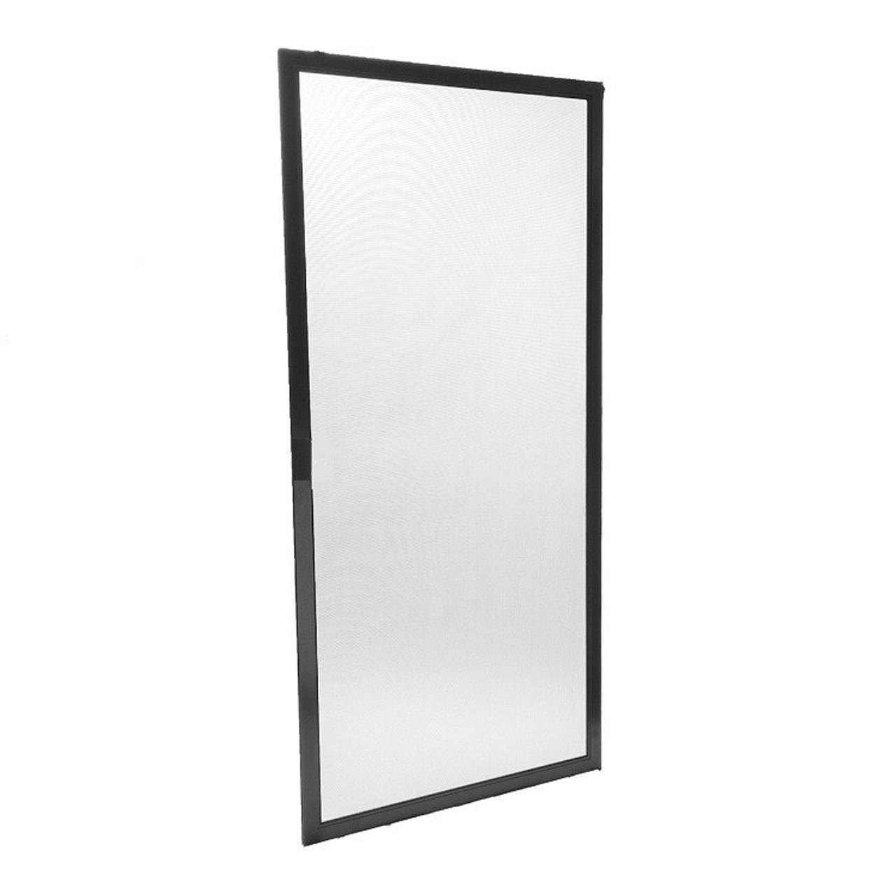 Porch Screen Panels With Charcoal Fiberglass Mesh