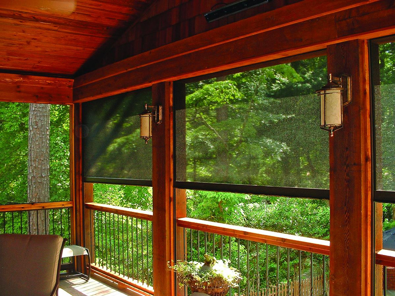Retractable Insect Screens Pull Down Porch Screen Disappearing Screen Doors Metro Screenworks