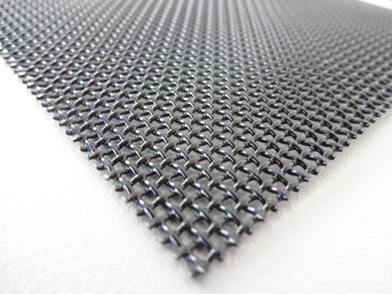 36 Inch x 25 Ft BLACK Stainless Steel 023 diameter