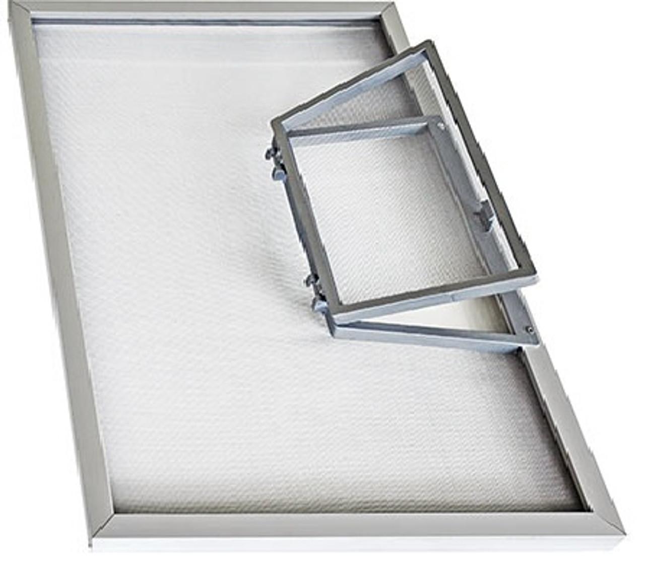 Window wicket for window screens