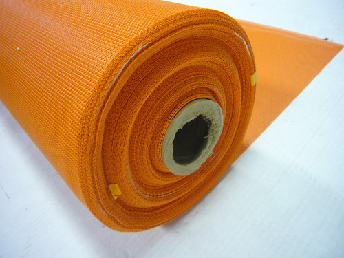 Orange Pet Screen 54 Inch x 25 Ft.