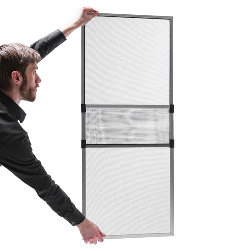 """2 Pack / Adjustable Screen 18"""" x 26"""" to 47"""" WHITE"""