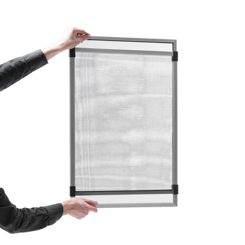 "13"" x 18  to 32 3/4"" Adjustable Window Screen"