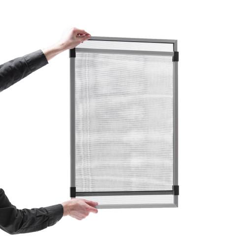 "15"" High x  20"" to 37"" Width Adjustable Window Screen"