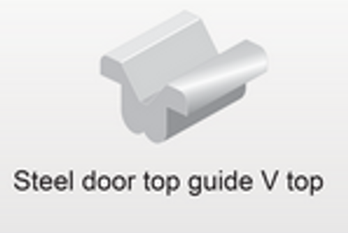 Top Guide For 600 Series Door - Part # 20.7000.1572