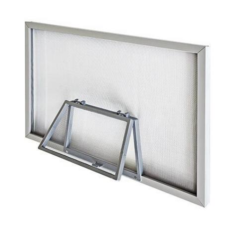 Window Screen With One  Wicket Door