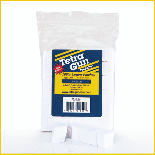 .17 -.22 Cal. Cleaning Patches (1400 Pack)