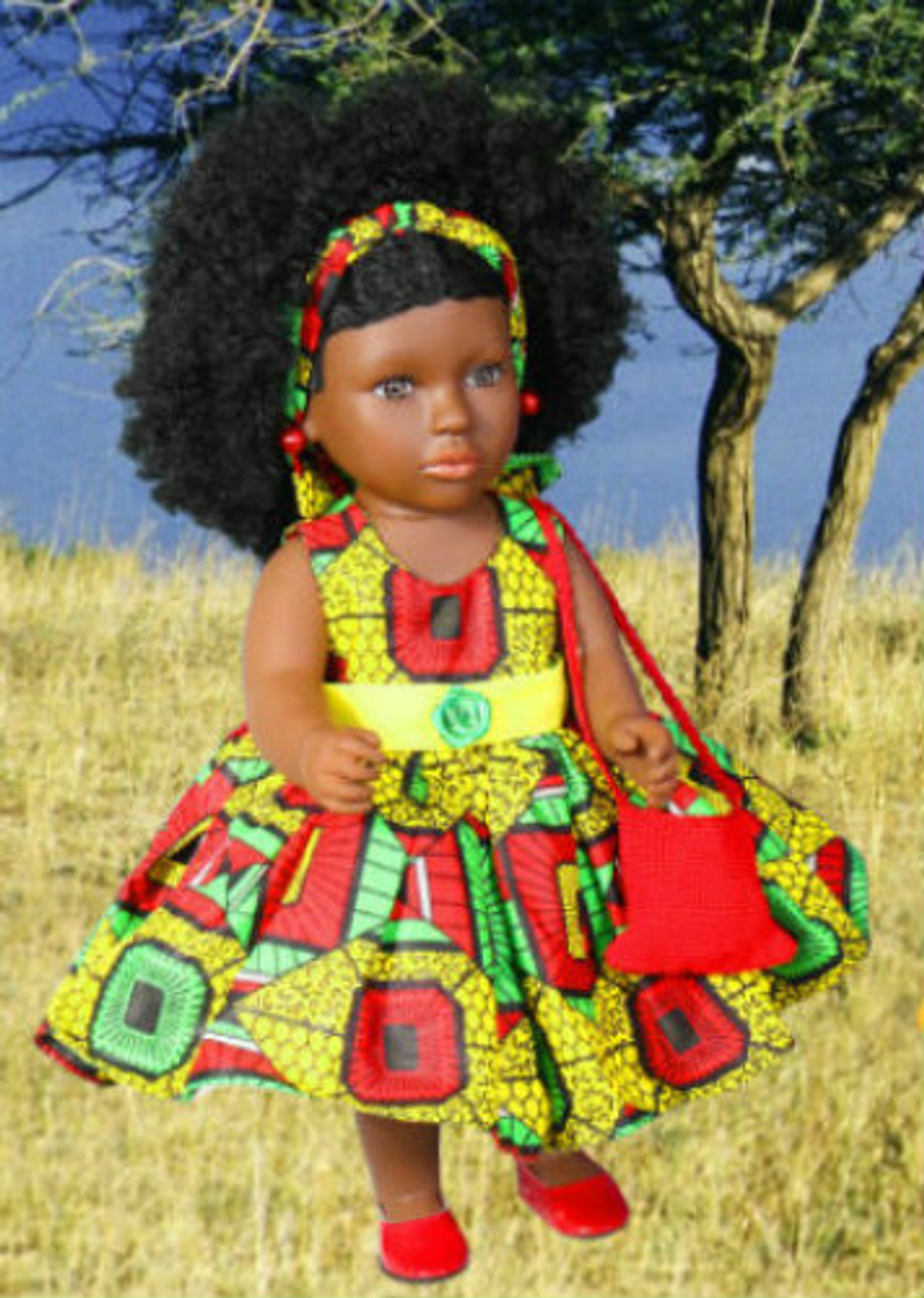 African Inspired Doll Sweet Jamaica