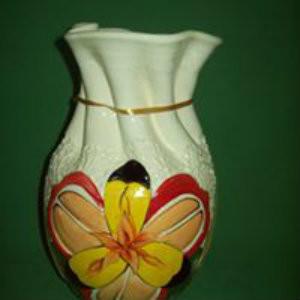 Med Carved Vase