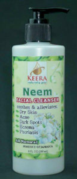 8oz Keera Neem Facial Cleanser