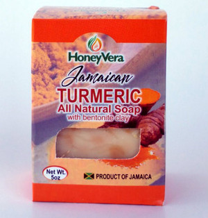 Honey Vera Turmeric  soap