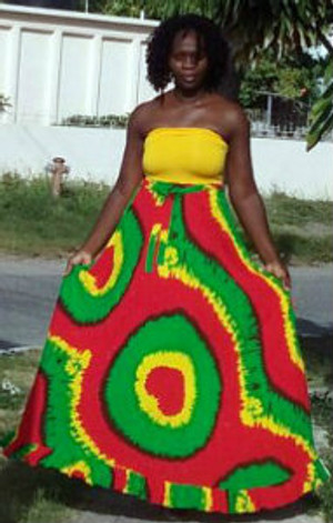 Rasta Tube dress