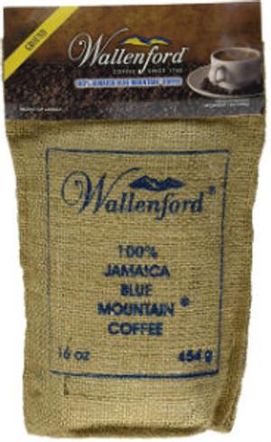 16oz Jute Bag Jamaica Blue Mountain Coffee RG
