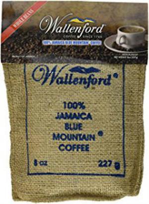 8oz Jute Bag Jamaca Blue Mountain Coffee  WB