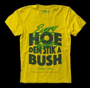 Female Patwah T-Shirt (Stik a Bush)