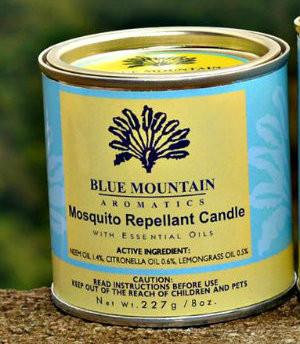 8 oz Mosquito Repellent Candle (neem)