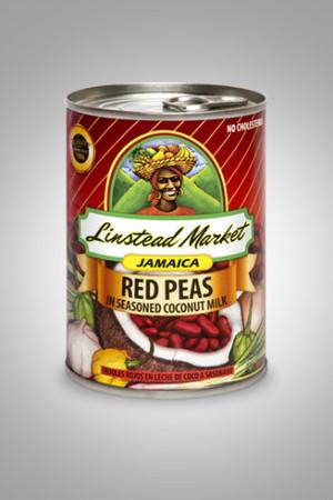 RED PEAS IN SEASONED COCONUT MILK