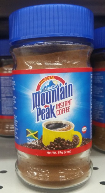 Jamaica Mountain Peak  instant Coffee 3.5oz