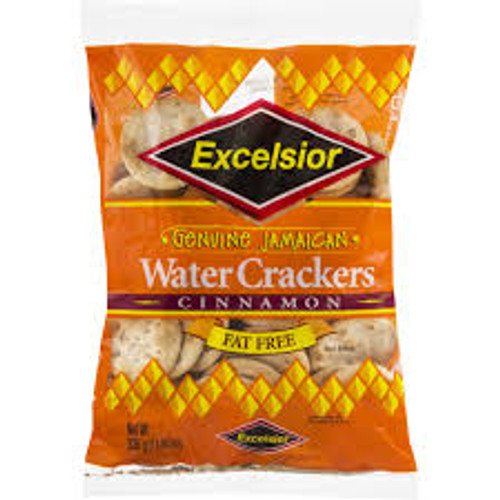 Excelsior cinnamon Water Crackers 300 g (Pack of 3)