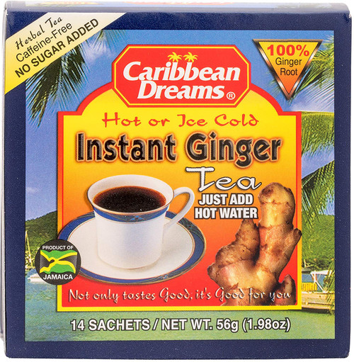 Caribbean Dreams Instant Ginger Tea unsweeted