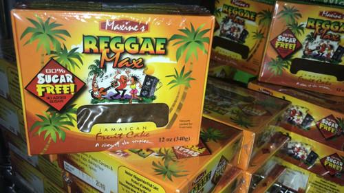 REGGAE MAX JAMAICA  FRUIT CAKE (Sugar free) 12 OZ