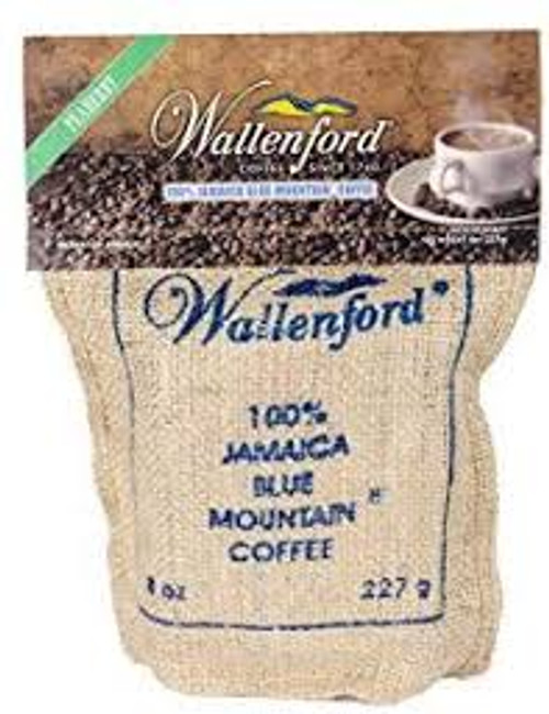 16 oz Jute Bag Jamaica Blue Mountain Peaberry