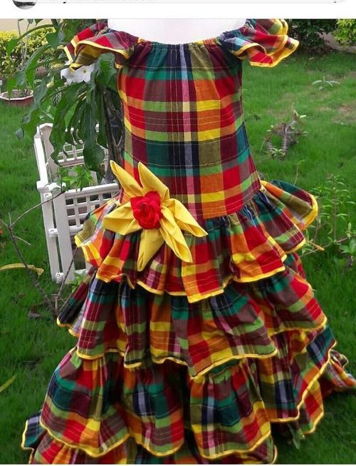 Long Heritage dress