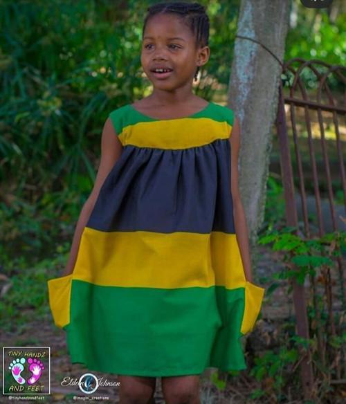Jamaica color dress