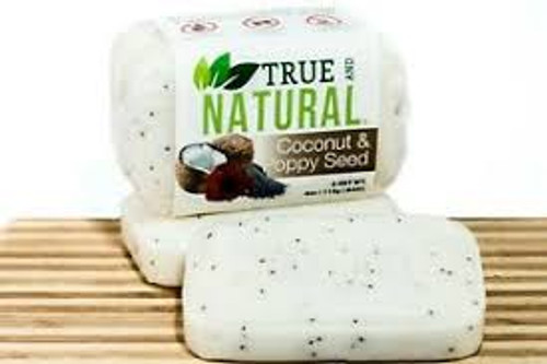 Coconut and Poppy Seeds soap (set of 3)