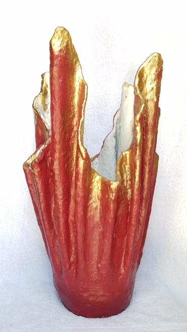 Lrg Abstract vase
