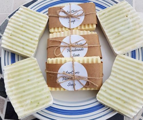 Moringa soaps handmade