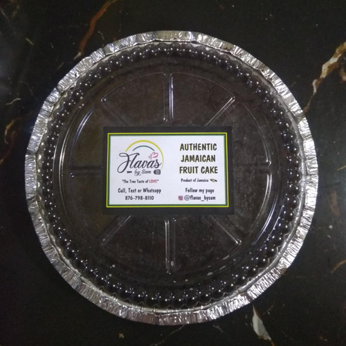 Small  Authentic Jamaican fruit cake ( flavas by Sam)