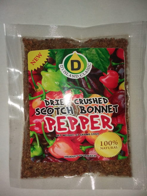 Crushed Sotch Bonnet Pepper 2oz