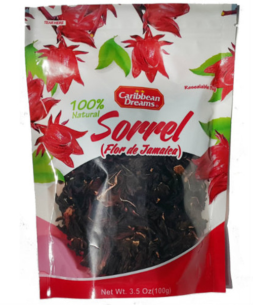 scientists have discovered that Jamaican sorrel contains a lot of vitamins, minerals, antioxidants and flavonoids. These compounds give Jamaican sorrel its deep red color.   Jamaican sorrel is also good for the lowering of elevated blood sugar, bad cholesterol and is good for the detoxifying of the body.